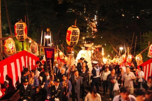 池上本門寺 御会式・万灯行列   2010年10月12日