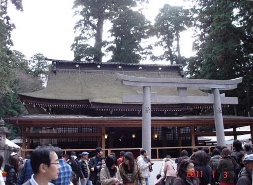 鹿島神宮に初詣 [2011]