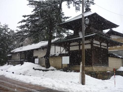 ローカル線で行く冬の五箇山・城端②