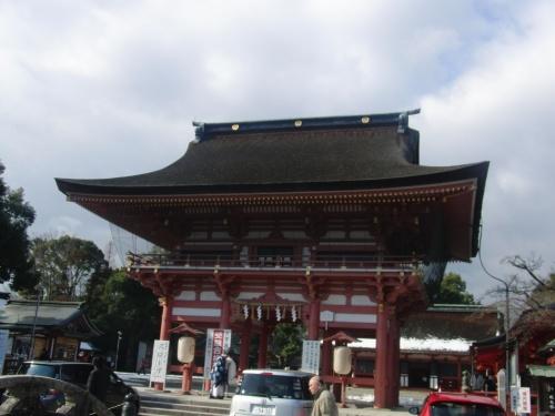 津島神社からおちょぼ稲荷へ