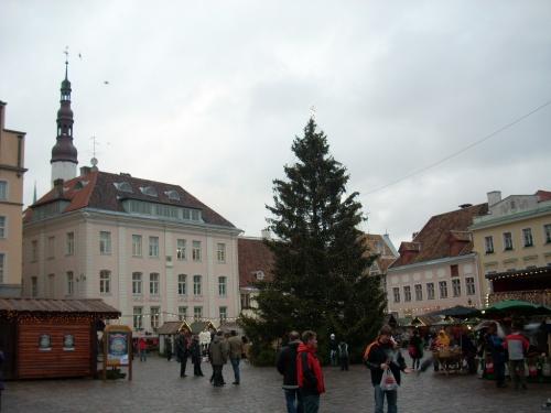 エストニアの世界遺産No.1 : 首都タリンに現代まで保存されてきた中世ドイツの街並み