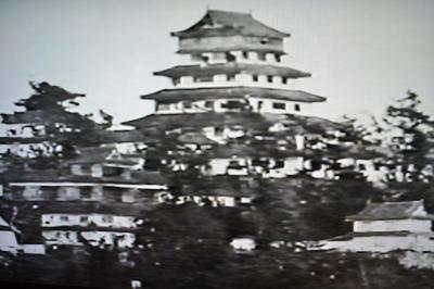 森蘭丸の森家(弟、森忠政)の築いた城、津山城