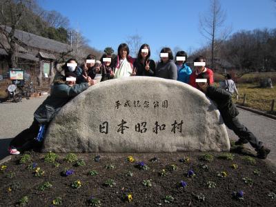 赤ちゃんとお出かけ~昭和村で蕎麦打ち体験しました~