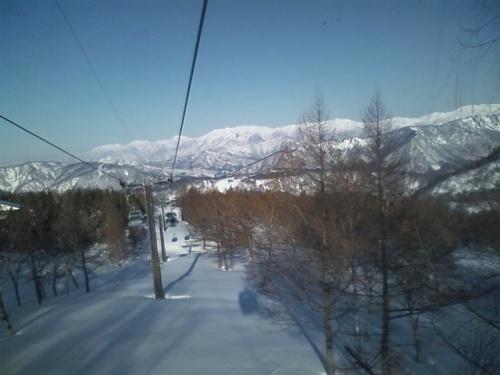 10年ぶりのスキーで「かぐらみつまた」へ