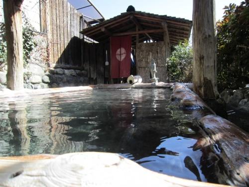 山梨県南部の温泉(露天風呂)