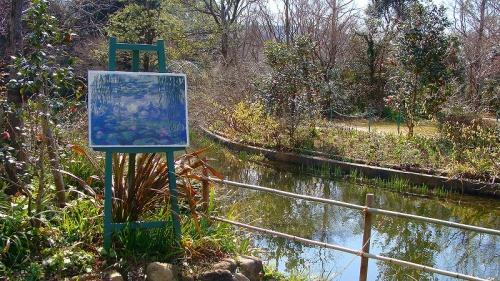 高知北川村 モネの庭モルマッタン 水の庭