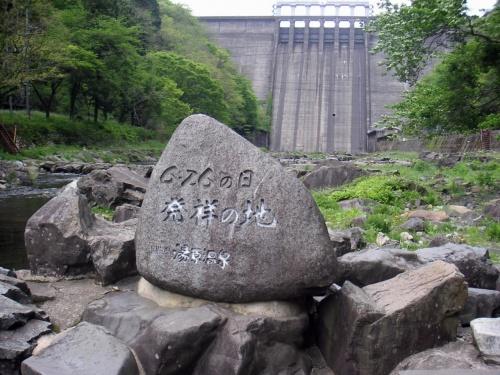 湯原温泉 河原露天風呂
