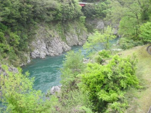 2011年GW温泉旅行。。。その11。。。岐阜県「飛水峡」