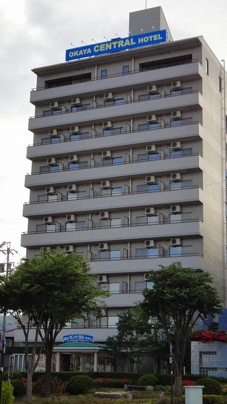 岡谷駅前 岡谷セントラルホテル 宿泊記