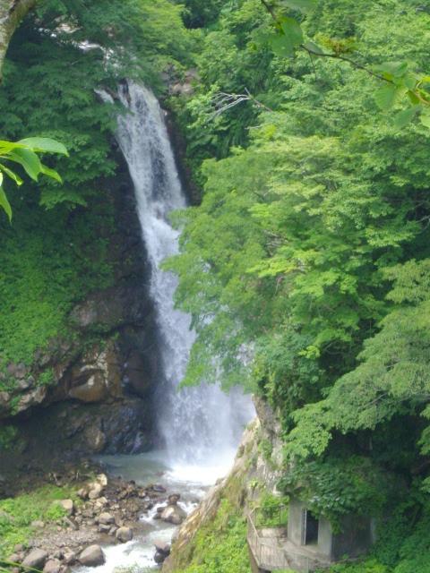 11/07 パワーをもらう旅②@妙高:関温泉~惣滝~不動滝@