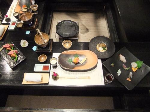 2011.7.7〜7.15の九州旅行。<br /><br />白川温泉『竹ふえ』での2日目のお食事です。