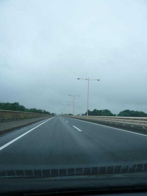 日本一長い直線道路(滝川~美唄間)等々◆2011年7月の北海道は雨だった【その4】