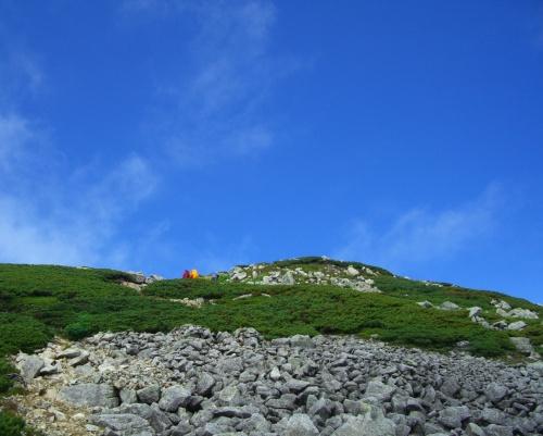 北アルプスデビューは 立山雄山で