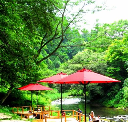 金沢へ①~加賀の川床と月うさぎの里