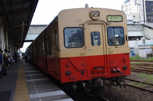 乗ってきました千葉県の 「久留里線」