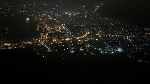 真夏の函館観光、ショートクルーズと世界三大夜景