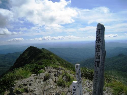 晩夏の北海道  花の百名山 富良野岳・夕張岳へ  ③ 夕張岳登山