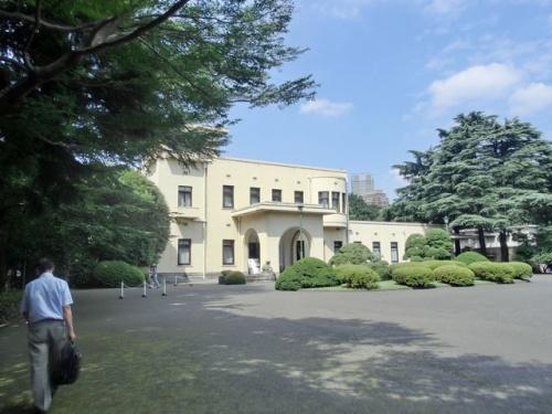 八芳園でビアガーデン&庭園美術館(2011年8月)
