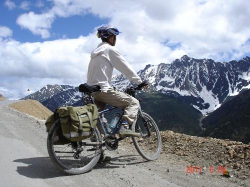 自転車の 自転車の写真 : 6600キロの自転車旅行(中国 ...