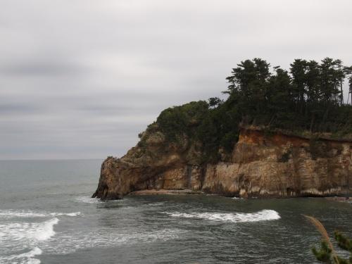 津波後の鵜の岬