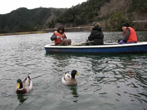 伊自良湖でワカサギ釣り(リベンジ)