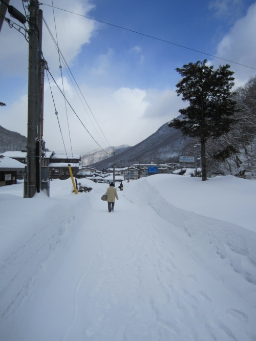 去年、平湯大滝結氷まつりに合わせて行った雪の中の露天風呂とお祭りが良かっ... 去年、平湯大滝結