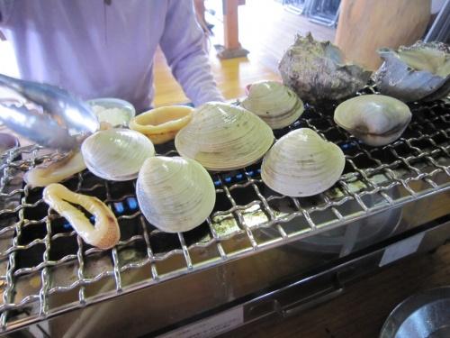 九十九里に焼き蛤を食べに行こう!!