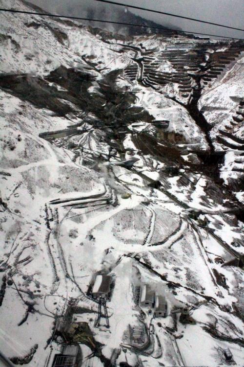 【大涌谷~富士屋ホテルランチ編】えっ、箱根って雪国だったの!!3部作