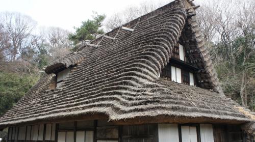 日本民家園に行ってきました(川崎市生田緑地散策)