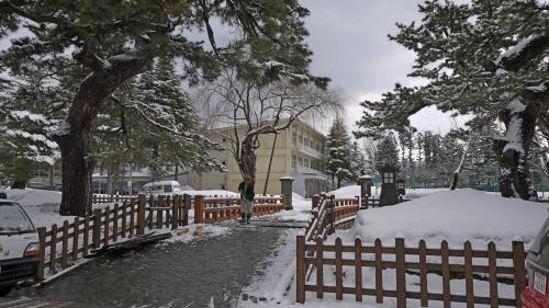 【国内84】雪の矢島に知人に会いに行く1-錦旅館に一泊