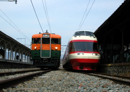 しなの鉄道 快速169系湘南色号に乗って