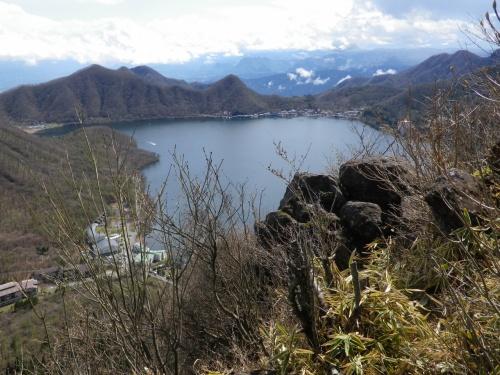 榛名山の榛名富士と烏帽子ヶ岳に登る