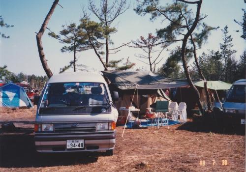 昭和シリーズ 8   伊勢シーサイドでオートキャンプ と 奈良公園