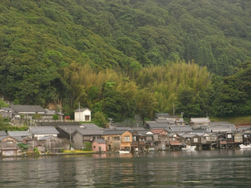 伊根の舟屋、天橋立へドライブ(12年初夏)
