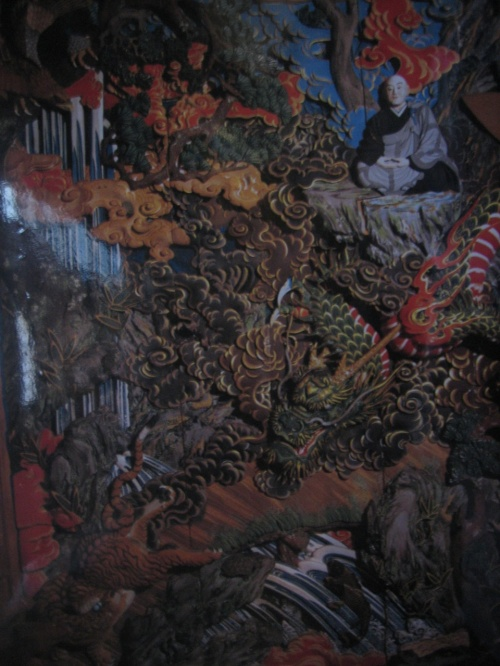 石川雲蝶の作品と再び清津峡トンネルへ