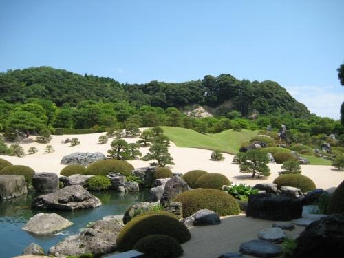 神話の国の日本庭園!
