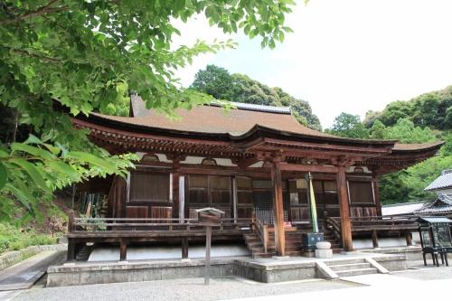 奈良県生駒市の長弓寺から大和郡山市の松尾寺へと参拝してきました。