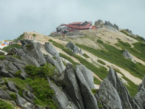 燕山荘(えんざんそう)に泊まった、北アルプス・燕岳(つばくろだけ)登山②