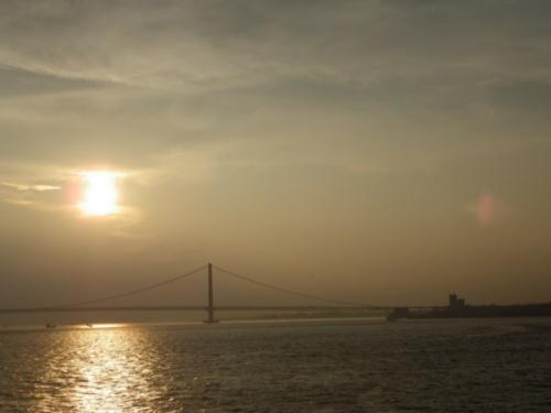 SUNSET SUMMER…(フク丸の山口&ハウステンボスツーリング2012初日)