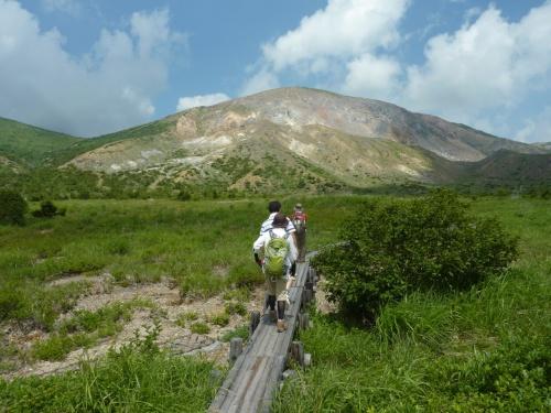 夏の福島は,マイナスイオンたっぷりのブナっ子路散策と野地温泉②