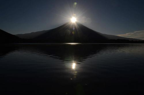 富士山三昧-① 田貫湖でWダイヤモンド富士を撮影