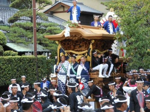 岸和田だんじり祭りとお城