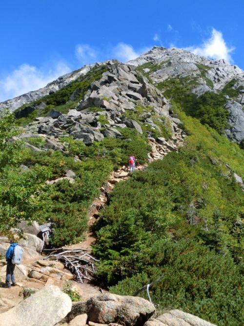 東西二座の駒ヶ岳に登る ① 甲斐駒ヶ岳登頂記