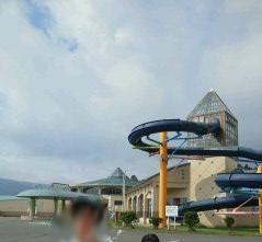 世界遺産を見て、プールでも遊ぶ。(ホテルゆらら)