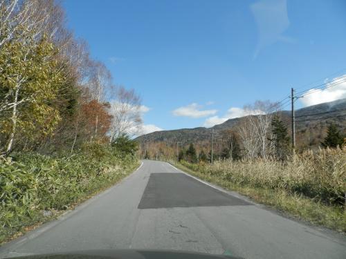 冬季閉鎖前の奥志賀スーパー林道の紅葉を観ながら走る!2012年。②
