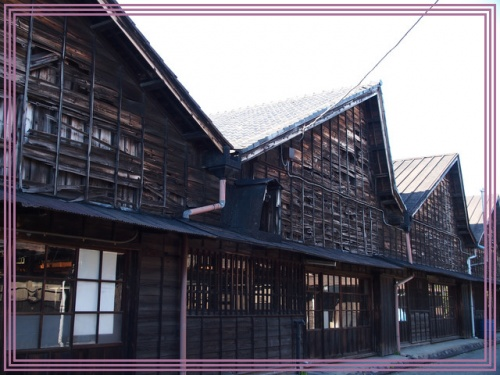 レトロに出会う旅(1日目) ~ノコギリ屋根の織物工場がある町~