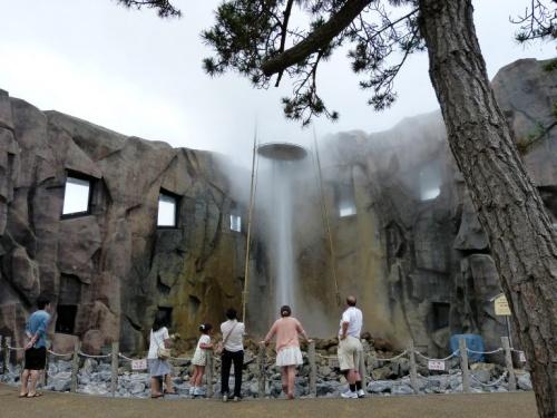 46.2012年夏休み5泊6日の北海道旅行 驚きの地熱パワー しかべ間歇泉公園