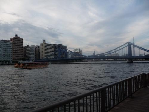 国の重要文化財 『清洲橋』◆2012盛夏・スヌーピーを求めて東京へ!≪その9≫