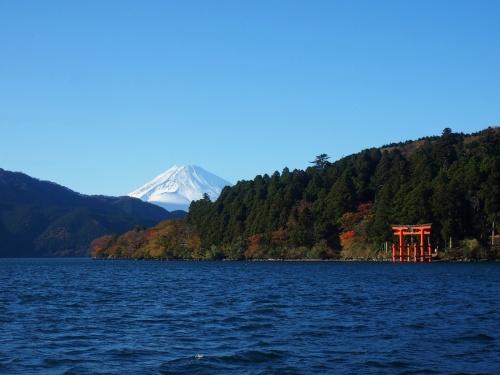 ぐるっと箱根 絶景富士に感動!箱根の紅葉2012