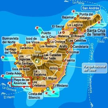 カナリア諸島 Tenerife Spain DE...